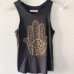 Spiritual Gangster sleeveless top
